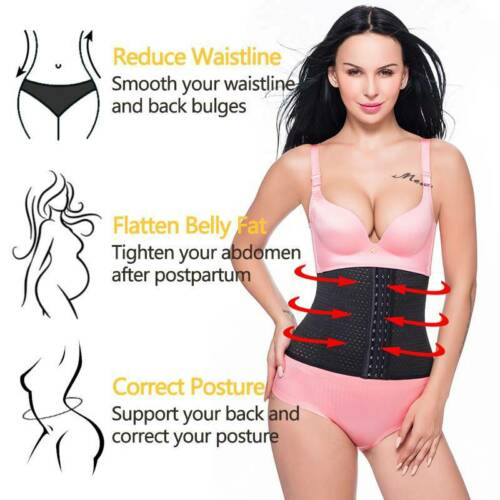 Details about  /Body Shaper Waist Trainer Corset Underbust Cincher Tummy Slimming Shapewear