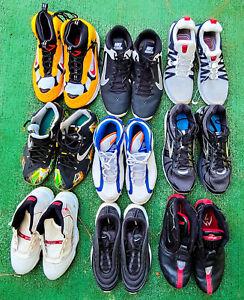 9 PAIR BEATER BOX Nike Shoes Men Sz 8.5 - 14 Jordan Retro 11 LeBron Air Max 97
