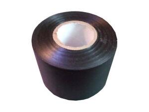 0-24-Euro-pro-Meter-Solar-Klebeband-PVC-weich-UV-Bestaendig-50mm-x-25m-schwarz