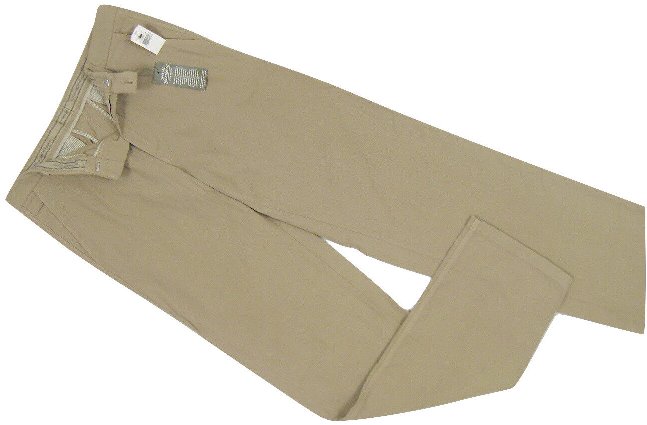 NEW Ermenegildo Zegna Weathered Khakis (Pants)   40 x 38  Heavier Corded Cotton