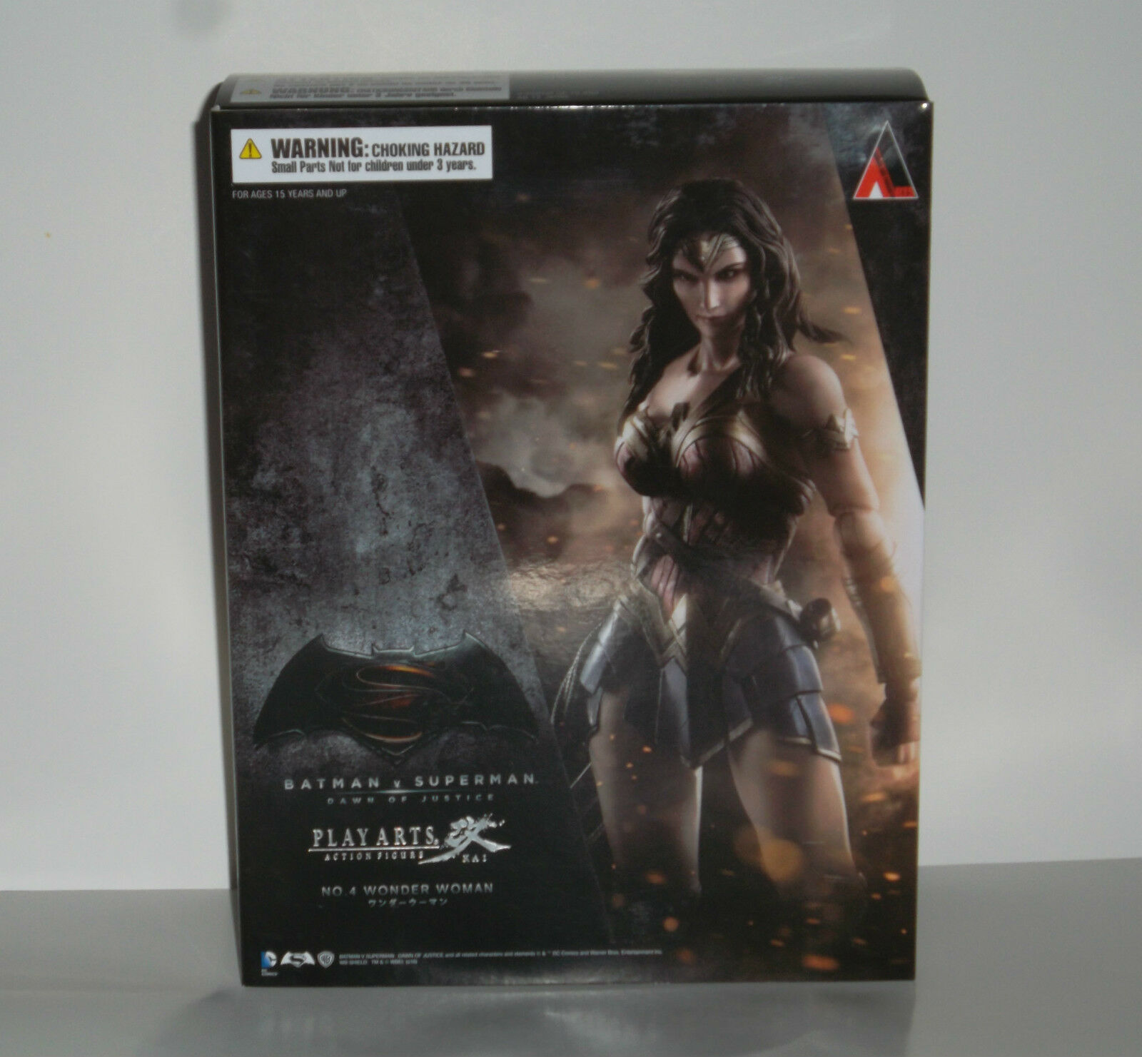 SQUARE ENIX PLAY ARTS KAI BATMAN VS SUPERMAN WONDER Damenschuhe  FIGURE