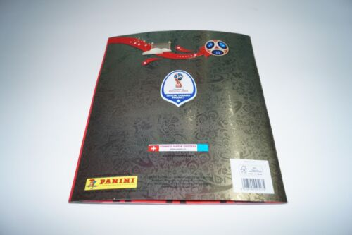 PANINI Russia 2018 World Cup 18-3x empty Album Gold Edition Swiss Rare//now