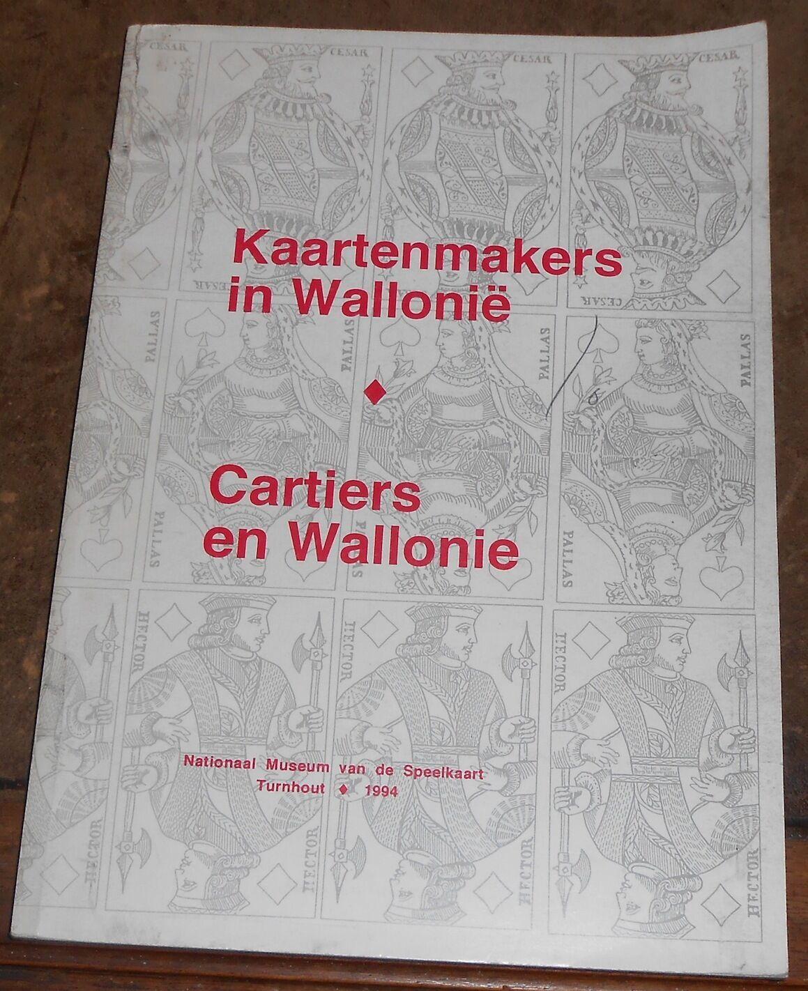 Cartiers en Wallonie Kaartenmakers in Wallonië