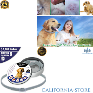WAGGIE-ANTI-FLEA-TICK-amp-MOSQUITO-COLLAR-ADVANCED-PROTECTION-COLLAR-PROTECT