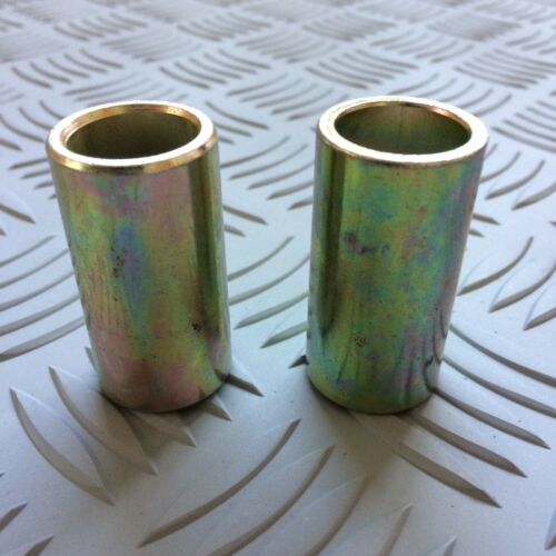 Pair. 50mm long Tractor Top Link Pin Conversion Bush Cat 2 to Cat 1