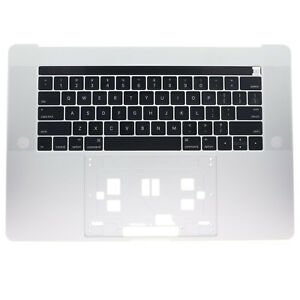 New-Silver-Top-Case-Palmrest-amp-keyboard-US-For-MacBook-Pro-A1707-15-034-2016-2017