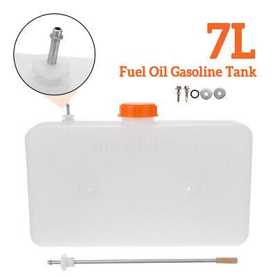 7L Fuel Oil Tank Plastic Fuel Oil Gasoline Tank Air Diesel Parking Heater for Car Diesel Parking Heater Car Truck Plastic White