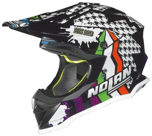 NEW NOLAN N53 HELMET N CANEPA PRACTICE REPLICA MOTOCROSS MX ENDURO CHEAP BMX