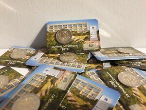 Coincard BU 2 Euros Commémorative Chypre Institut Neuro2020