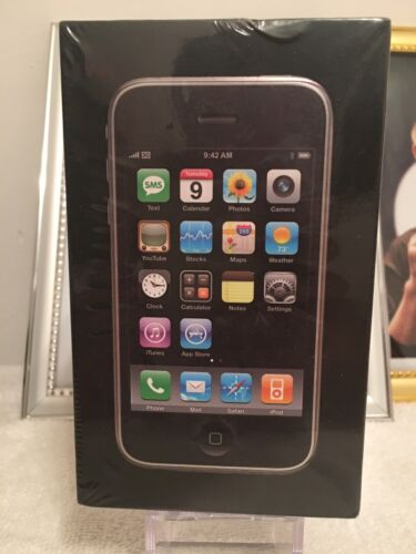 1 of 1 - Brand New Apple iPhone 3G - 8GB - Black (AT&T) Factory Unlocked. Never Used