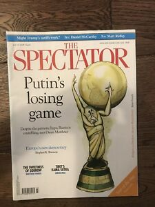 The-Spectator-Magazine-9-June-2018-Vladimir-Putin-amp-The-World-Cup
