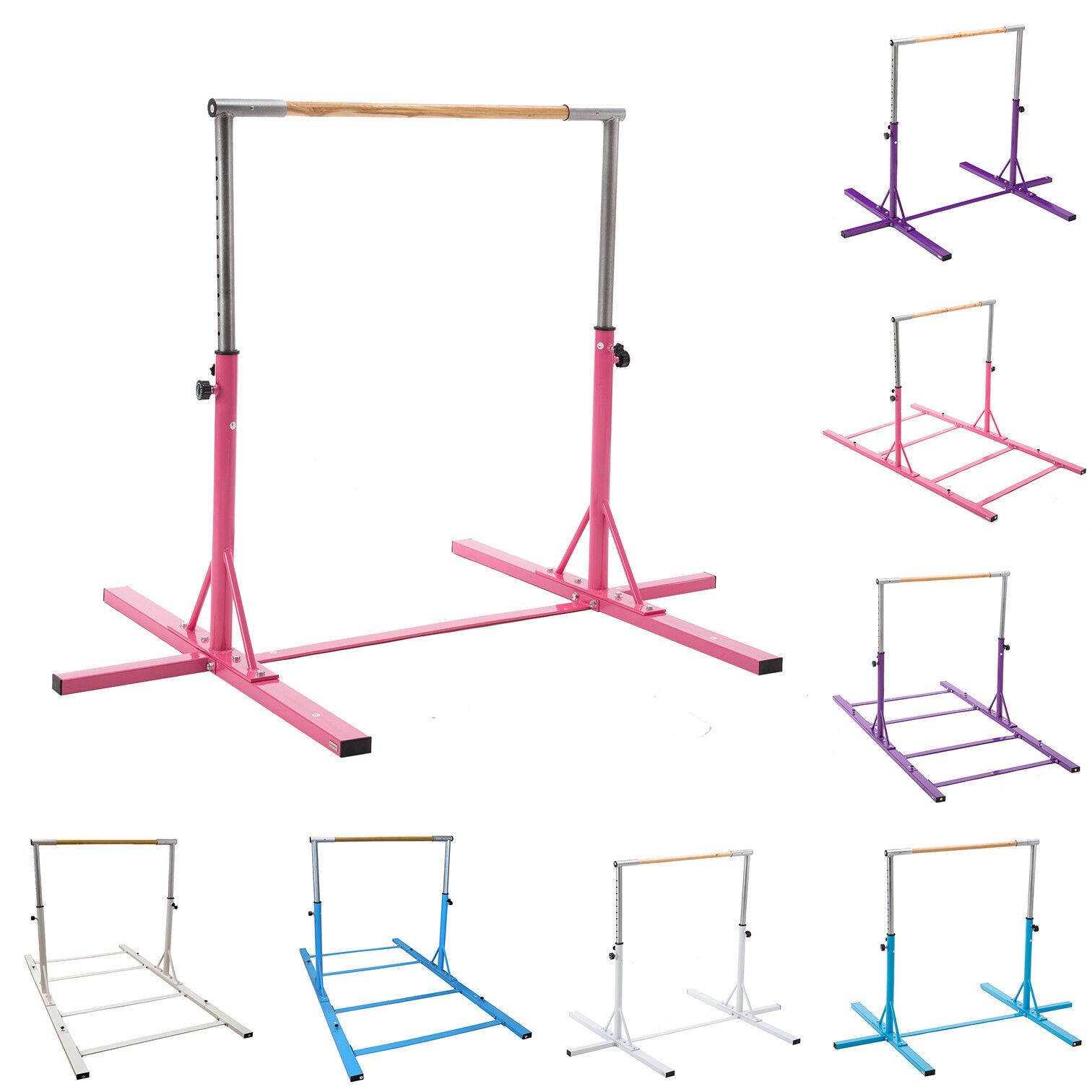 4 color Gymnastics Bar Equipment Junior Training Adjustable Horizontal Kip Bar