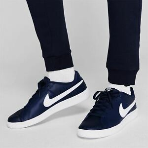 Nike Court Royale Trainers Mens Navy