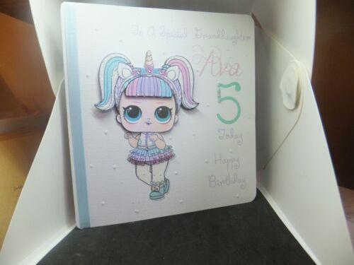 8 X 8 PERSONALISED LOL BIRTHDAY CARD