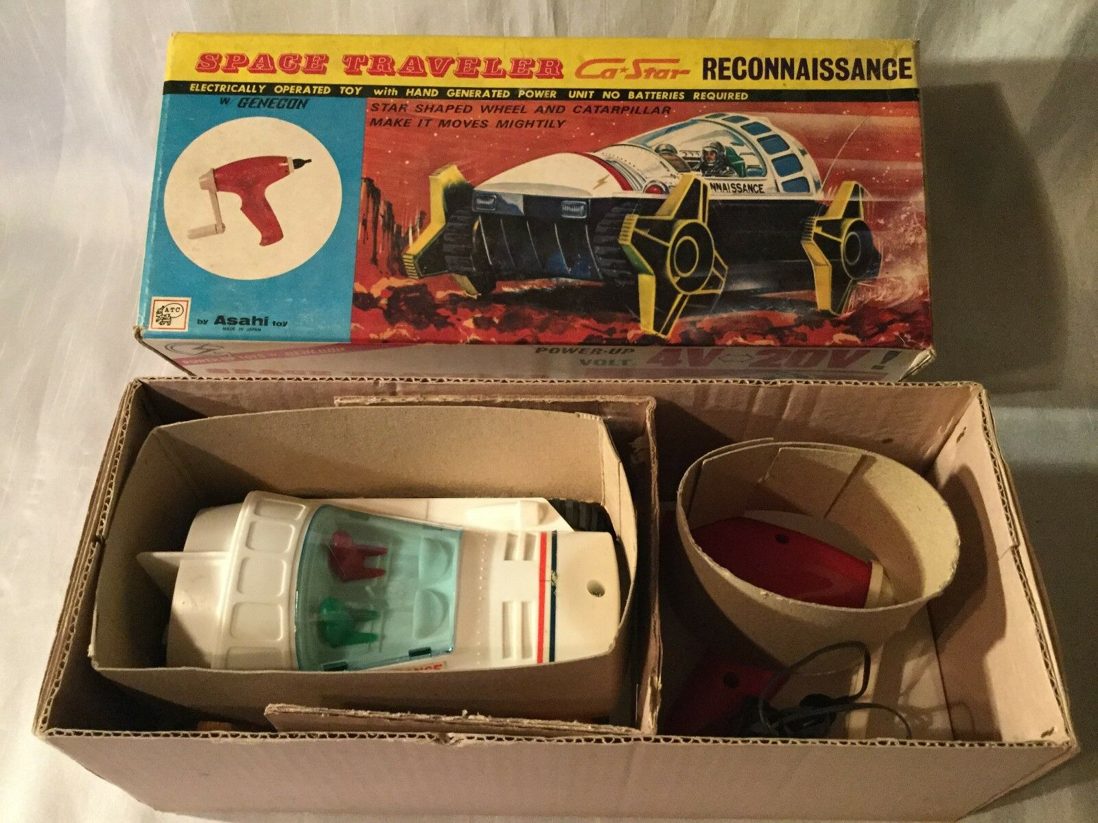Asahi Toy no. 3940 Space Traveler Ca Star Reconnaissance Japan Boxed