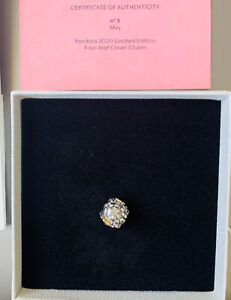 Details about *in hand* Pandora 2020 Limited Edition Four Leaf Clover Charm  20th Anniversary