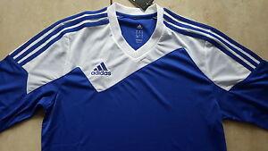 Adidas-neue-Trikot-034-Toque-13-034-Groesse-152-blau-weiss-Beflockung-moeglich