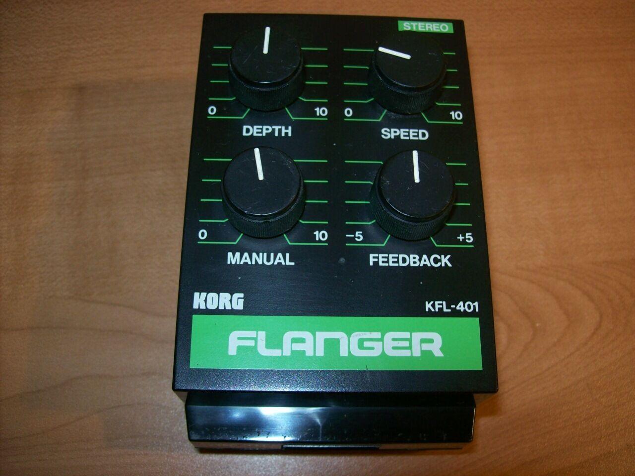 Korg PME40X Flanger Flanger Flanger Efectos Module Vintage (para Pedal Tablero Dock) (Modular) 905e28