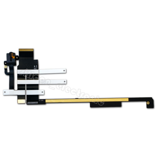 Headphone Jack Audio Flex Cable 2012 PCB Board For iPad 2 A1395 2560 Wifi Only