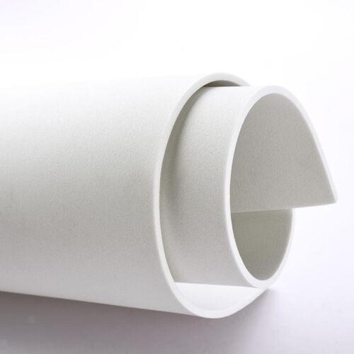 Weiß EVA Schaumstoffplatte Schaumstoff Zuschnitt Blatt Polster 350x500x3 mm