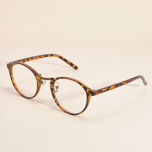 1aeabb6377 Women Vintage Clear Lens Eyeglasses Frame Retro Round Men Unisex Nerd  Glasses Leopard