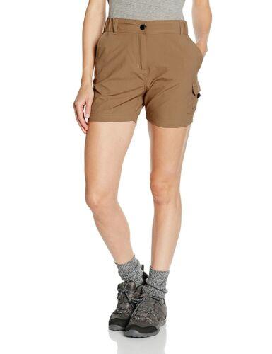 Nougatbraun Gregster Damen Shorts Wanderhose Kurz XL