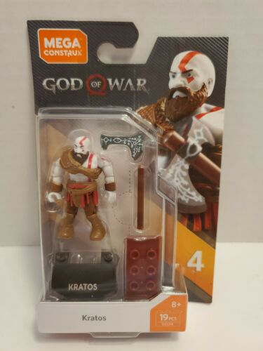Mega Construx Heroes Series 4 Kratos God of War Figure K