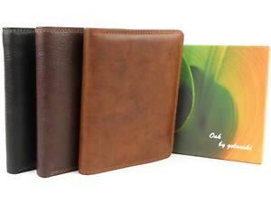 Para-hombres-Cuero-Cartera-por-Golunski-17-ranuras-para-tarjetas-de-credito-en-Caja-De-Regalo