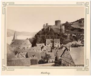 Allemagne-Reimburg-Limburg-Vintage-albumen-print-Tirage-albumine-20x26