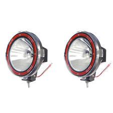 Pair 7 Inches 4x4 Off Road 6000k 55w Xenon Hid Fog Lamp Light Spot 2pcs
