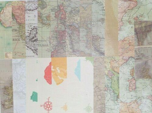 Longitude Countries Latitude Continents 21 pcs 8X8 PAPER Maps
