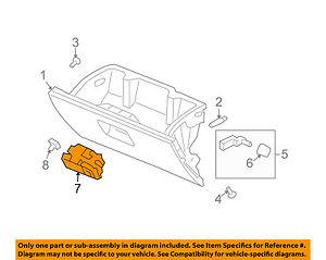 image is loading honda-oem-03-06-element-glove-compartment-box-