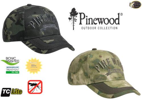 Pinewood 5294 TC Camou Cap Outdoor Kappe Basecap Mütze Angelkappe Jagdkappe