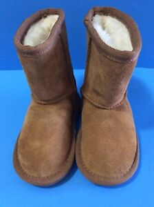 28301e5b45f Details about New NWOB Koolaburra by UGG Toddler Size 6 Brown Tan Boots