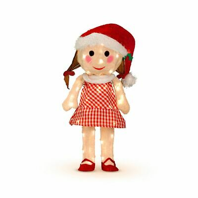 """Rudolph Sally Misfit Toy 24/"""" 3-D Tinsel Outdoor Christmas Decoration Yard Art"""