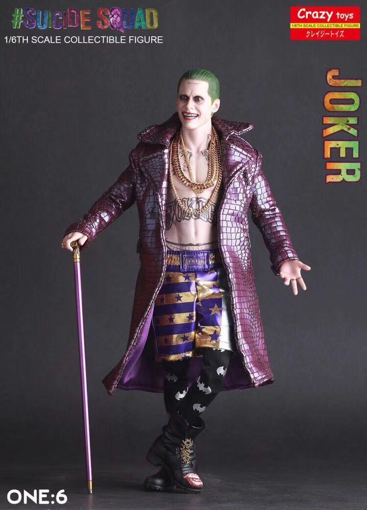 1 6TH Crazy Toys DC Suicide Comics Suicide DC Squad Joker Action Figure Toy Collectible NEW 73638a