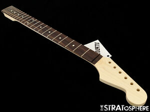 NEW-Fender-Lic-Allparts-Baritone-Stratocaster-NECK-Strat-Unfin-Rosewood-SR-BAR