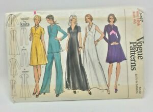 Vintage-Vogue-Sewing-Pattern-8467-Misses-Dress-Tunic-and-Pants-Sz-18-1-2-Bust-41