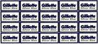 Gillette Silver Blue Double Edge Razor Blades- 100 Blades - Made in Russia
