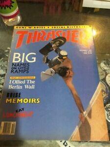 Thrasher-Skateboard-Magazine-December-1988-Lance-Mountain-Eric-Nash-12-88-Dec