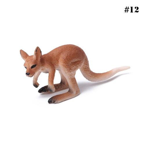Simulation de modèles animaux en plastique jouet éducatif cadeau pour les enfant