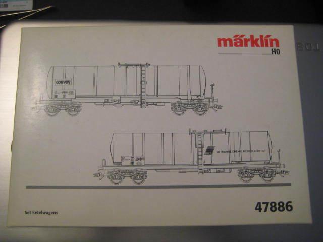 prodotti creativi Marklin Ho 47886 NS NS NS   Convoy-Contigas   2 Cisterna Set - Lnib - Epoca V  clienti prima reputazione prima
