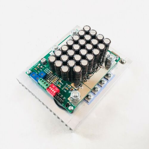 200A 10-50V 12V 24V current limited DC motor speed controller PWM RS232 arduino