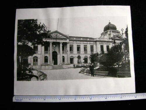 100% REAL PHOTO BRAZIL SAG PAULO PALACE 1933 #2703
