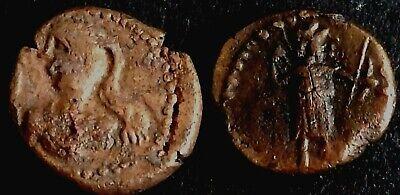 Fein Bronze Drachm-elymais-elamais-elam-persien-persian-persia-drachme-n4