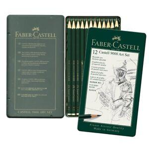 Faber-Castell-9000-Graphite-Pencil-Set-12-Pencil-Set
