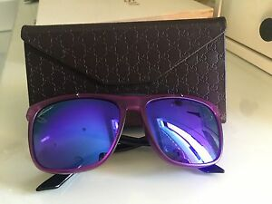 0b7a43e14b465 Image is loading Authentic-Gucci-Mirrored-Acetate-Sunglasses-RRP-1300