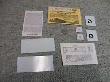 Champ decals HO HC-236 New Haven caboose white letters J53