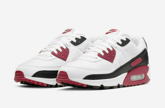 Size 9 - Nike Air Max 90 New Maroon for sale online | eBay