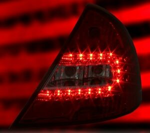 ALL-SMOKED-LED-REAR-LIGHTS-LAMPS-FOR-FORD-MONDEO-MK3-HATCHBACK-10-2000-05-2007